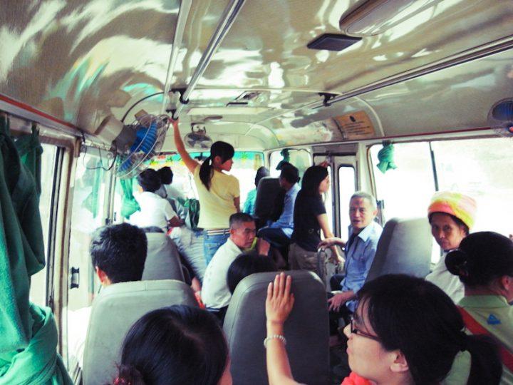 Bus Longsheng - Dazhai